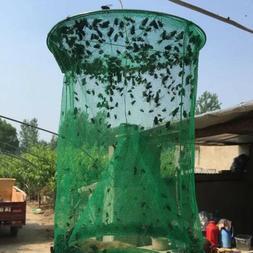 Pest Fly Trap Reusable Flytrap Effect Control Net Killer Cag