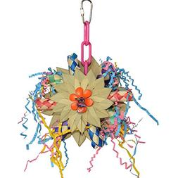 "Super Bird Creations Pinwheel Bird Toy 8"" x 5.5"""