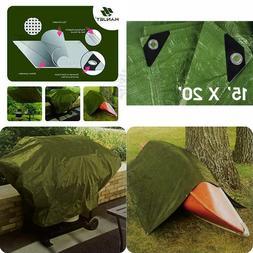 Poly Tarp Heavy Duty Tent Cover Canopy Shelter Multi Purpose