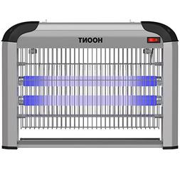Hoont Powerful Electric Indoor Fly Zapper and Bug Zapper Tra