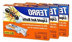 TERRO PreFilled Liquid Ant Killer II Baits T300, 6-Pack