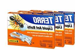 Terro Prefilled Liquid Ant Killer Ii Baits, 3-Packs Of 6 Bai