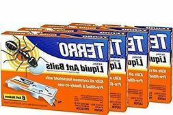 Terro PreFilled Liquid Ant Killer II Baits, 4-Packs of 6 Bai