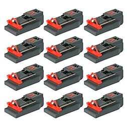 Victor Quick Kill Mouse Trap Pack of 12 traps Easy to Set mo