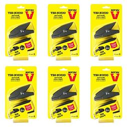 Victor Quick-Set Mouse Trap - 6 Pack  M137 - One touch set
