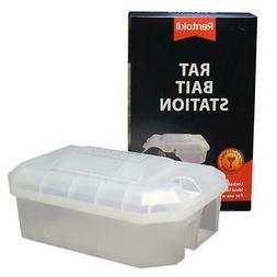 Rentokil Rat Bait Station - Safe & Lockable for Bait Treatme