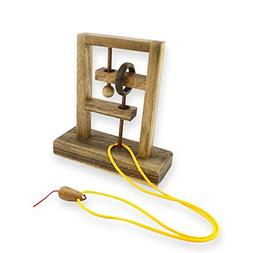 The Rat Trap,wooden Base L Wooden Brain Teaser Puzzles Games