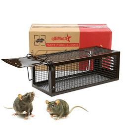 StarMiUp Rat Trap - Small Animal Humane Live Cage Catches Ra
