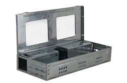 Rats Humane Multi-Catch Repeater Live Trap With Clear Window