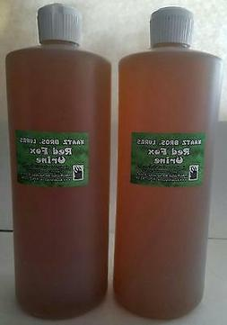 Red Fox Urine 1/2 gallon Trapping trappers trap fur animal h