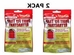 rescue! ffta non-toxic fruit fly trap attractant refill, 30