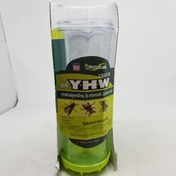 RESCUE! Non-Toxic Reusable Trap for Wasps, Hornets and Yello