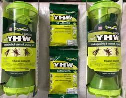 Rescue WHY Trap Wasps/Hornets/Yellow Jackets Lot Of 2 Traps