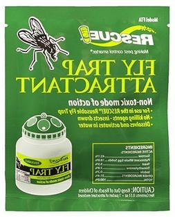 18-PACK RESCUE! Fly Trap Attractant Refills; Works with RESC