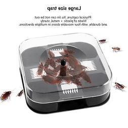 Reusable Cockroach Insect Trap Box Catcher Bait NON Poison f
