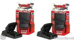 2pk NEW! Tomcat Reusable Snap Rat Trap 2pk
