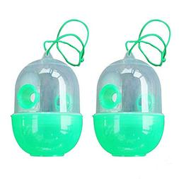 2 Pack Reusable Wasp Trap - Outdoor Wasp Killer Insect Catch