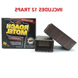 Black Flag Roach Motel Traps, 2-count Packages  12 Traps Tot