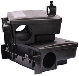 Rodent Bait Station 2 Pack - Eliminates Rats and Mice Fast.