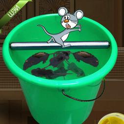 Rolling log mice trap the original ''bucket not included'' W