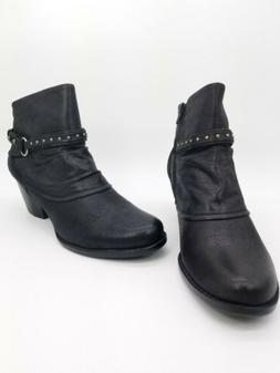 Baretraps Rosea Woman Shoes Booties Black Sz 10 M