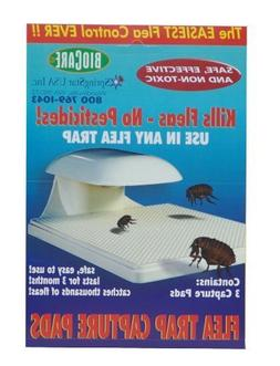 Springstar S103 Biocare Flea Trap Capture Pads, 2 Packs of 3