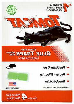 SCOTTS COMPANY-TOMCAT Mouse Glue Traps, Super Hold, 4-Pk. 03