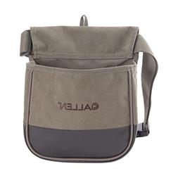 Allen Shooter's Bag Double Compartment Green Heavy Canvas wi