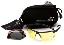 Ducks Unlimited Shooting Glasses Kit with 4 Interchangeable