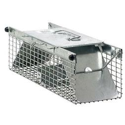 small 2 door rodent squirrel cage trap