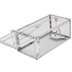 Small Animal Humane Live Cage Rat Mouse Chipmunk Trap for In