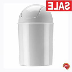 Small Trash Can With Lid Bathroom Kitchen Bedroom Waste Bask