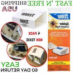 Terro Spider Glue Trap Insect Roach Cricket Pests Killer Non