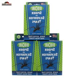 Springstar Spider and Silverfish Traps - 6 Pack