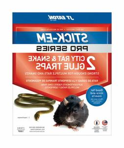 JT Eaton  Stick-Em Pro Series  Large  Glue  Animal Trap  For