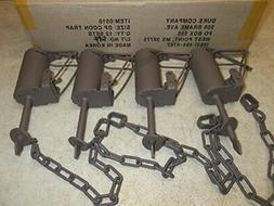 Sturdy Chain Trigger Mechanism Dog Proof Raccoon Traps - Pow