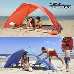 Sun Shelter Tent for Beach Summer Outdoor UV Tarp Sun Shade