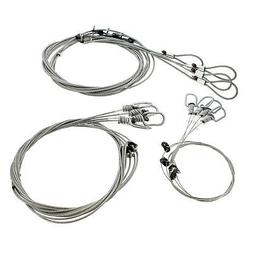 Survival Snares Trapping Supplies – 12 Pk Wire Animal Snar