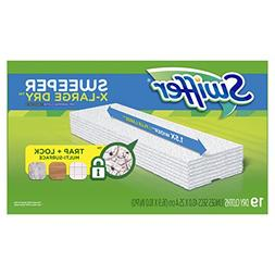 Swiffer Sweeper Extra Large Dry Mop Refills for Floor Moppin