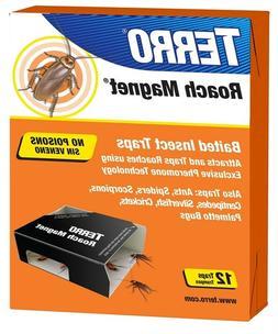 Terro T256 Roach Magnet Trap, 1 Pack Brown/A