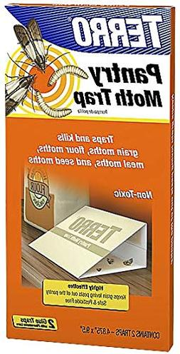 Terro T2900 2 Pack Pantry/Kitchen Moth Traps - Quantity 4