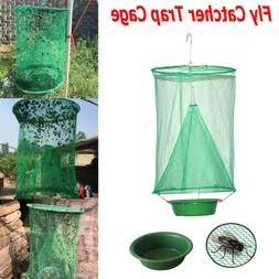 The Ranch Fly Trap - Reusable Fly Catcher Killer Cage Net Tr
