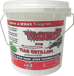 MOTOMCO Tomcat Mouse and Rat Bromethalin Pellets, 5Pound, Ne
