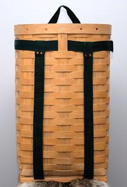"""Trappers Hardwood Veneer Pack Basket 10"""""""