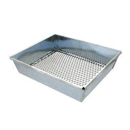 Trapping Sifter – 9 by 7 Inch Metal Dirt Sifter for Trappi