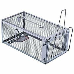 TSN Humane Rat Trap Cage For Rats Mice Chipmunks And Other S