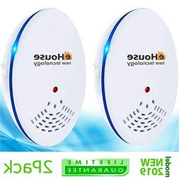 Ultrasonic Pest Repeller - Electronic & Ultrasound, Indoor P
