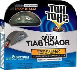 UNITED INDUSTRIES CORP Hot Shot Ultra Liquid Ant Bait, 6-Cou