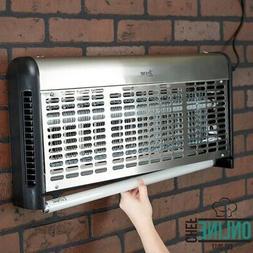 Zap N Trap UV Insect Control Zapper Straight Tube 24  Bulb 4