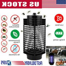 UV Solar LED Electric Fly Insect Bug Pest Mosquito Trap Zapp